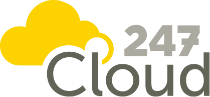 247Cloud logo (dark)